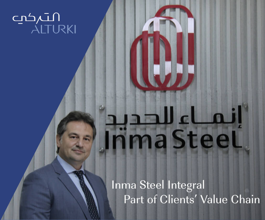 Inma Steel Integral Part of Clients' Value Chain
